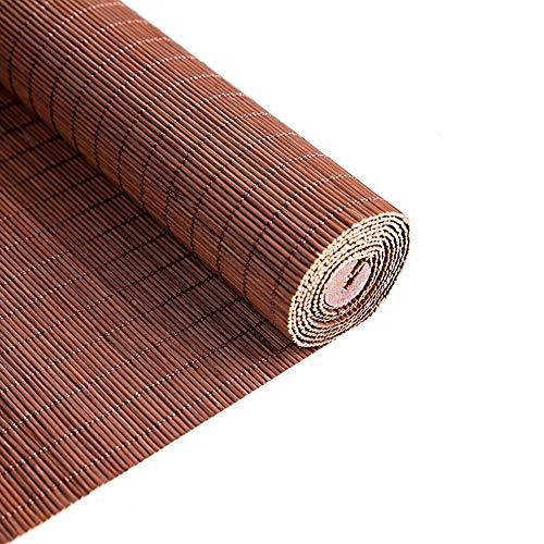 HWL Rollo Vorhang Bambus Rollo für Terrassentür, Rollläden für UV-Schutz, Tea Room Ausstellungen Dekor (Size : 120×200cm)