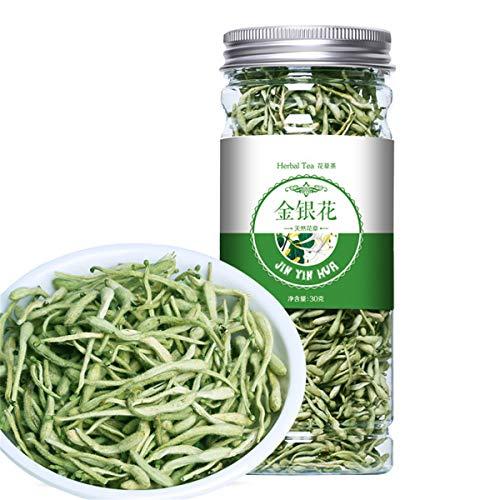 Chinesischer Kräutertee-Blumen-Frucht-Tee Rose Tea Golden Silk Chrysanthemum Bottled New Scented Tea Gesundheitswesen-Blumen-Tee-gesundes grünes Lebensmittel (30g Honeysuckle)