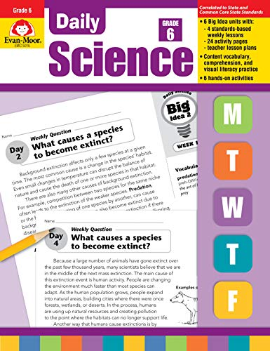 Daily Science, Grade 6+ (Daily Practice Books)