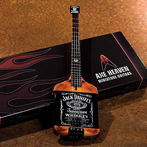 Jack Daniels Guitarra eléctrica en miniatura