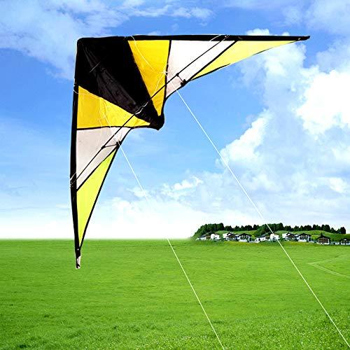SDCVRE Drachen Hand Double-Line Lenkdrachen 1,4 m 4-Leinen-Betrieb Der Air-Lenkdrachen ist einfach und leicht zu fliegen. Schöne Form, Anfängerdrachen. 100 m