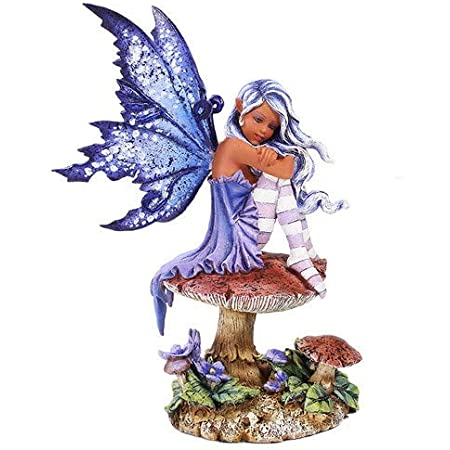 Amy Brown AUTUMN FAE Fairy Figurine with pumpkins Pacific Giftware NEW IN BOX!