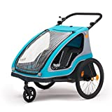 Yepp Duo Kinder-Fahrradanhänger für 1-2 Kinder...