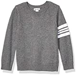 Splendid Boys Long Sleeve Sweater, Charcoal Heather - Toddler, 4T