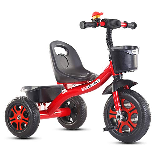 Best Prices! NBWPW Children's Tricycle 2-7 Years Old Baby Stroller, Child Bike Baby Pedal Baby Strol...