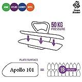 Dampf – Bügelpresse TEXI APOLLO 101 – vergrößerte Bügelfläche – NEU! - 3