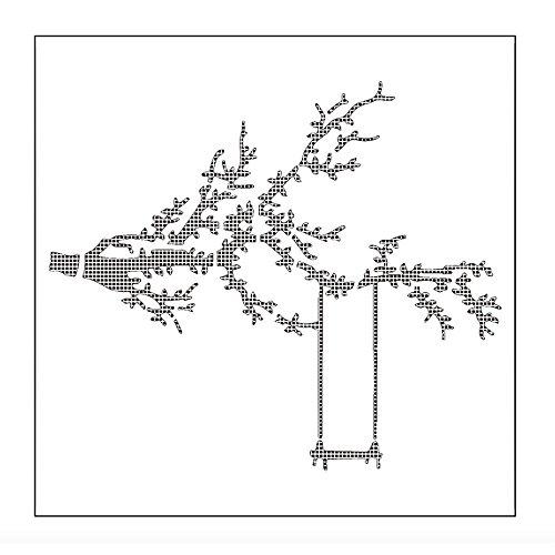 ICYANG Wiederverwendbare Spray Schablonen Kunst Kuchen Airbrush Malerei Vorlage Geburtstag Tiramisu Form Fondant Bakeware DIY Dekoration Baum Blume