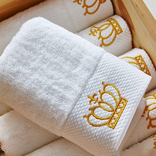 IAMZHL Nueva Toalla de baño de algodón Toalla Facial Limpia Toalla Cuadrada pequeña Suave y Absorbente FuerteCombinación de3Piezas-32 x 32cm(2 piec)