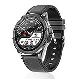 Zwbfu S11 Smart Watch 1.28-Inch 240240 TFT Touchscreen BT5.0 IP68 Waterproof 160mAh Battery Capacity Heart Rate/Blood Pressure/Sleep Monitor Notification/Sedentary Reminder Fitness Tracker 7
