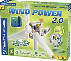 Build wind-powered generators to energize your electric vehicles and charge your rechargeable batteries! Models include: a 3-foot tall long-bladed turbine, short-bladed turbine, glider, motorcycle, jet car, tractor, race car, and sail car. Includes t...