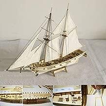 Guajave - Kit de Barco de Madera a Escala 1:100 para decoración de Modelos