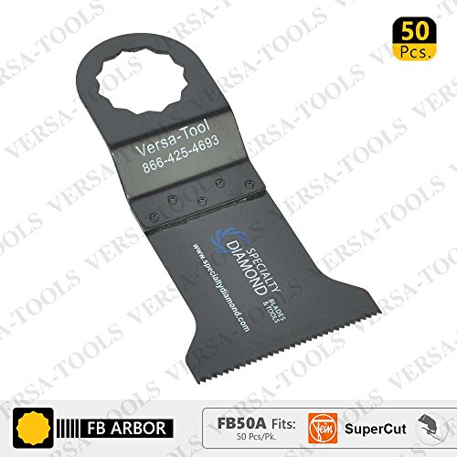 Great Features Of Versa Tool FB50A 45mm Wood/Plastic Multi-Tool Saw Blades 50/Pack Fits Fein Supercu...