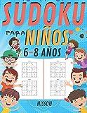 Sudoku para niños 6-8 Años: 200 Sudoku Niños de con Soluciones 9x9 para niños o niñas (21.59 x 27.94 ) Entrena la Memoria y la Lógica