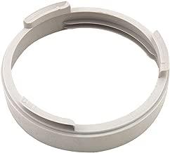 90/° -Vertikalkr/ümmer Wei/ß rechteckig flach 204/mm x 60/mm NaplesUK Flachkanal-Abluftschlauch // Luftf/ührung // Leitungssystem aus Kunststoff