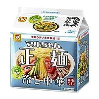 東洋水産 マルちゃん正麺 冷し中華 5食パック