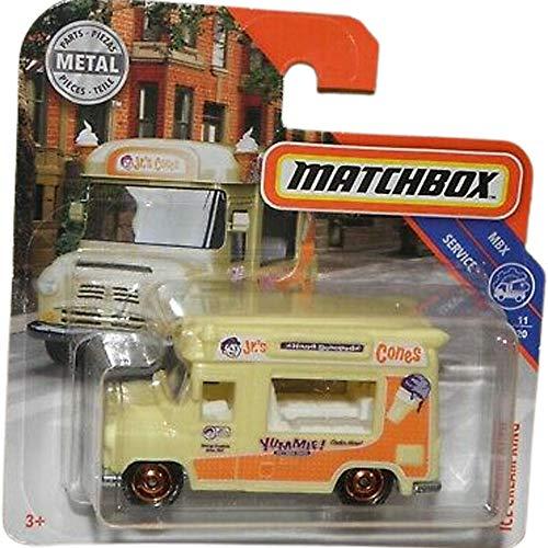 Matchbox Ice Cream Van Cream King MBX Service 11/20 2019 Short Card