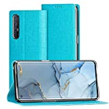 FUNMAX+ Oppo Find X2 Neo 5G Case, PU Leather Flip Folio