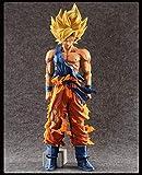 XFHJDM-WJ Regalo de cumpleaños Dolls Special Paint Color Anime Dragon Ball Z 35Cm Super Saiyan The Son Goku PVC Figura de acción de colección Modelo de Juguete WOS348