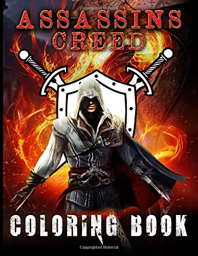 Assassins Creed Coloring Book: Color Wonder Assassins Creed Adult Coloring Books For Men And Women Unofficial