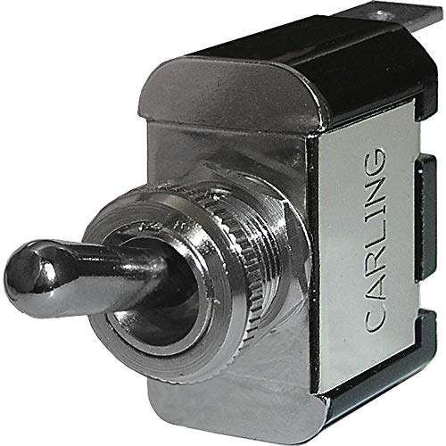 Blue Sea Systems 4150-BSS WeatherDeck SPST/On-Off Toggle Switch