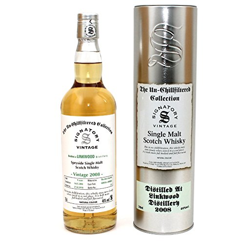 Linkwood 2008 - Bourbon Cask Matured - Signatory Vintage Un-Chillfiltered Collection 46%