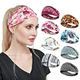 Tyfthui 8 Pack Headbands for Women, Yoga Running Sports Headbands...