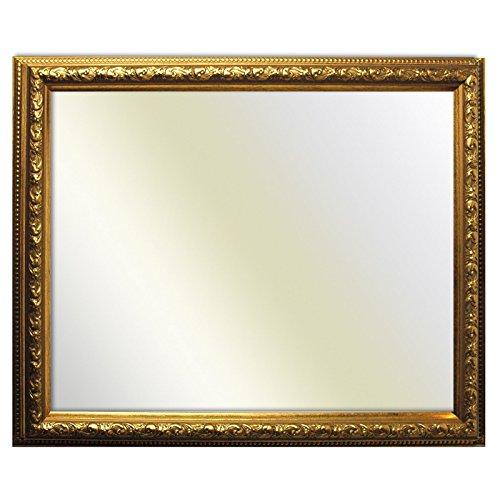 Baroque or cadre décoré finement 812 ORO, miroir, 20x28 cm