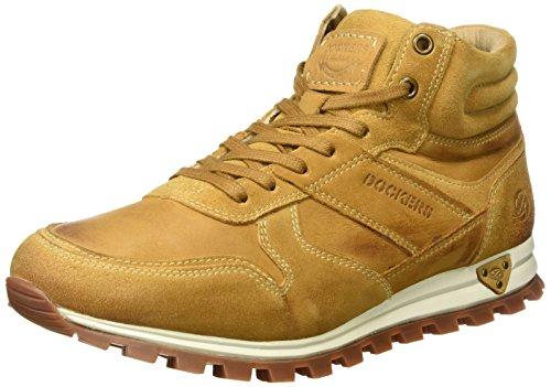 Dockers by Gerli Herren 41JF005 Hohe Sneaker, Gelb (Golden Tan 910), 45 EU