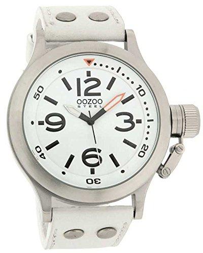 Oozoo OS202 Armbanduhr mit Lederarmband