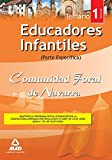 Educadores Infantiles De La Comunidad Foral De Navarra. Temario Parte Específica. Volumen I de Editorial Mad (3 sep 2009) Tapa blanda