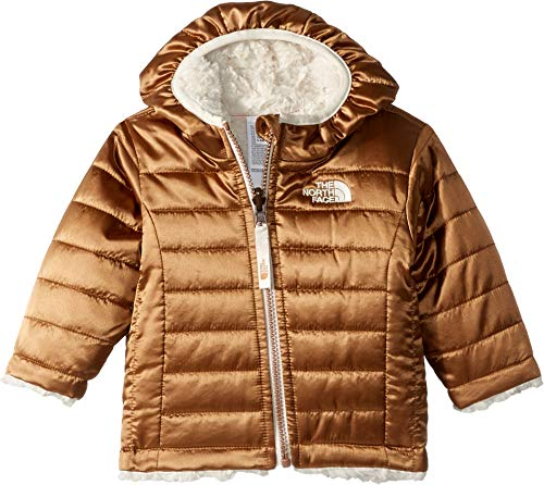 The North Face Infant Reversible Mossbud Swirl Hoodie, Metallic Copper, 12-18 Months