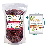 🌶️ ARBOL DRIED WHOLE CHILE PEPPER - 4 oz. weight in heat resealable bag 🌶️ AUTHENTIC FROM MEXICO - 100 % Natural Product Dried Arbol Chiles are a authentic product sourced from the best farms in Mexico 🌶️ HAND SELECTED - Hand selected and hand packed...