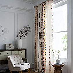Geometrical Printed Bohemian Curtain