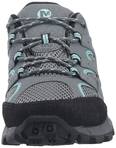 Merrell M- Moab 2 Mid Waterproof, Chaussures de Randonnée Hautes Mixte Enfant, Bleu (SED Sge), 35 EU