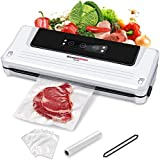 Bonsenkitchen Vacuum Sealers Machine, Automatic Food Sealer for Sous Vide Cooking and Food