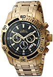Invicta Men's Pro Diver 24855 Gold Stainless-Steel Japanese Chronograph Diving Watch
