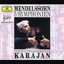 Best mendelssohn symphonies karajan Reviews