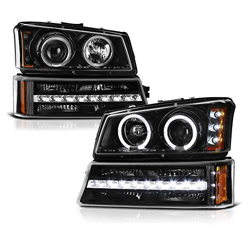 06 chevy halo headlights - 1