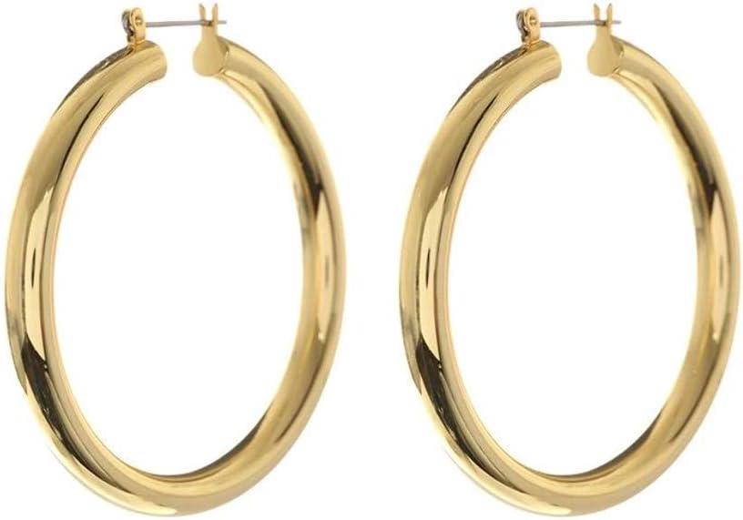 Amalfi Tube Hoops - Gold