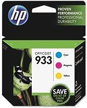 HP 933 Ink Cartridge - Cyan, Magenta, Yellow - Inkjet - 330 Page - 3 / Pack by HP