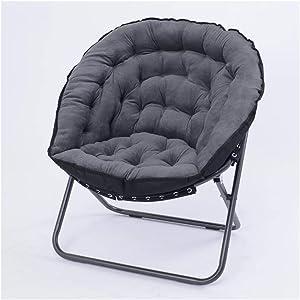 Carl Artbay Footstool Light Grey Folding Chair Chaise Longue Lounge Chair Sofa Chair Siesta Chair Baby Chair Home