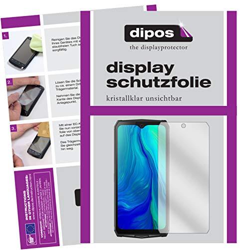 dipos I 6X Schutzfolie klar kompatibel mit Blackview BV9100 Folie Bildschirmschutzfolie