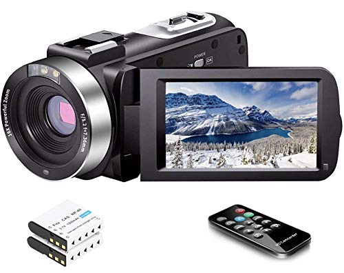 Video Camera Camcorder Full HD 1080P...