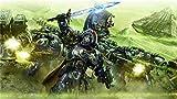 Warhammer 40,000 Dawn of War III Puzzle da 1000 Pezzi per Giochi di Intelligenza Educativi per Adulti, Giocattoli Antistress, Intrattenimento per La Famiglia, Regalo di Natale, 75 X 50 Cm