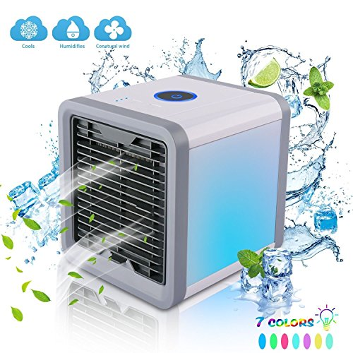AIVANT Portable Air Conditioner, USB-Powered Personal Small Air Circulator Cooler Humidifier