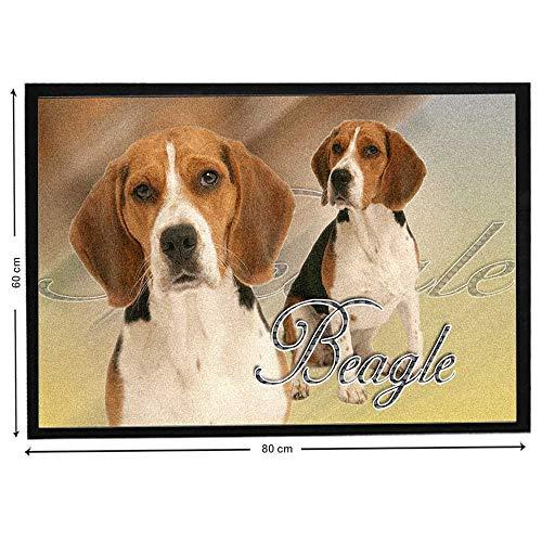 Pets-easy Chien Beagle sur Tapis de Chien Courant