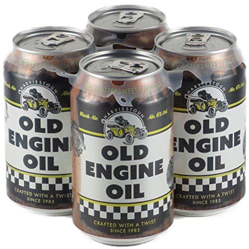 ハービストンブルワリー オールドエンジンオイル ブラックエール 缶 330ml×4本 クラフトビール