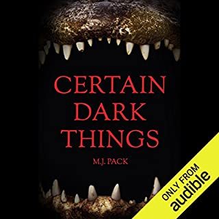 Certain Dark Things audiobook cover art