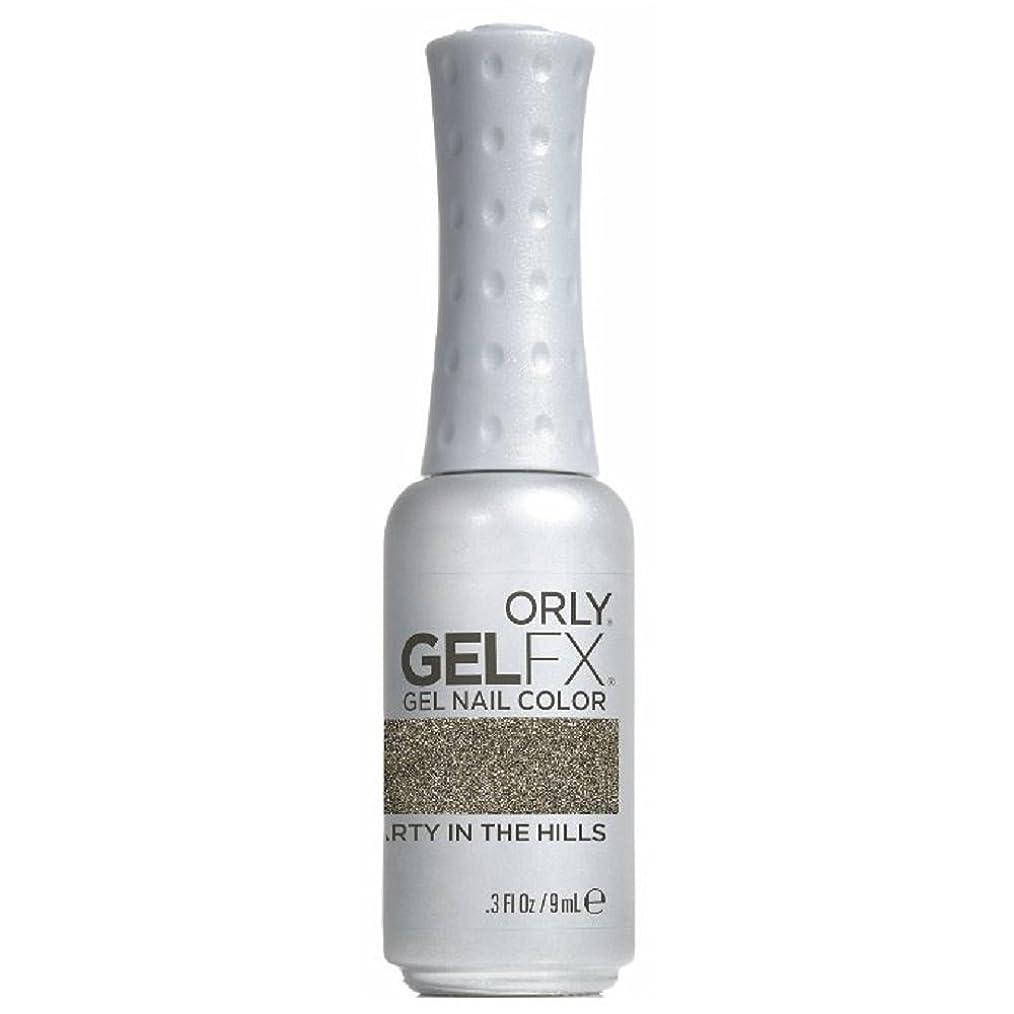 策定するペニー進行中Orly GelFX Gel Polish - Party in the Hills - 0.3oz / 9ml