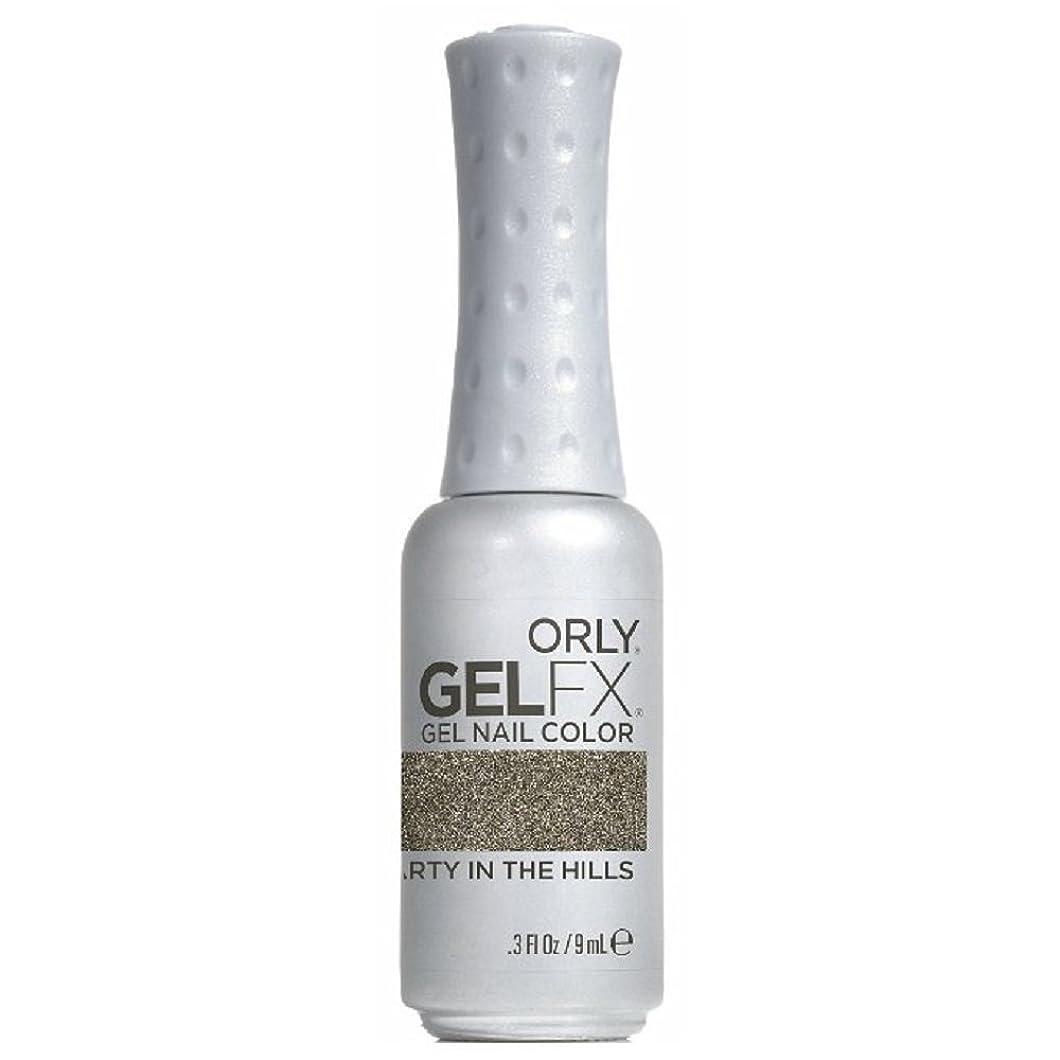 タービン遅れ息を切らしてOrly GelFX Gel Polish - Party in the Hills - 0.3oz / 9ml